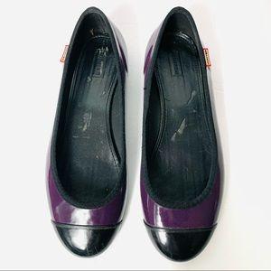 HUNTER Purple Ballet Flats